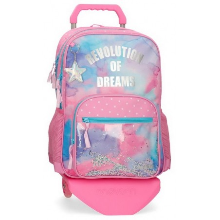 Mochila doble con carro Movom Revolution Dreams