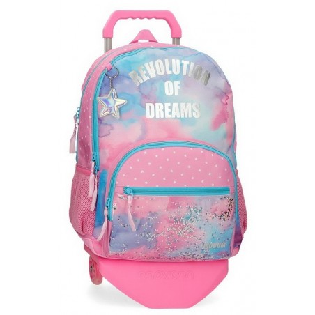 Mochila doble reforzada con carro Movom Revolution Dreams