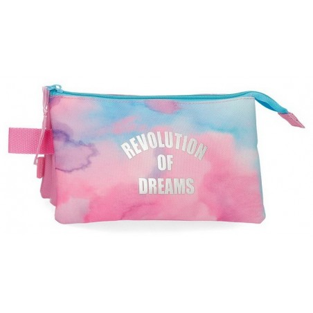 Estuche neceser triple Movom Revolution Dreams