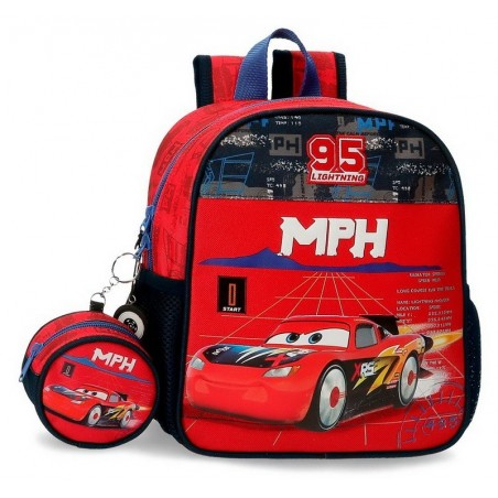 Mochila paseo Disney Cars Rocket Racing