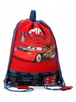 Mochila saco Disney Cars Rocket Racing