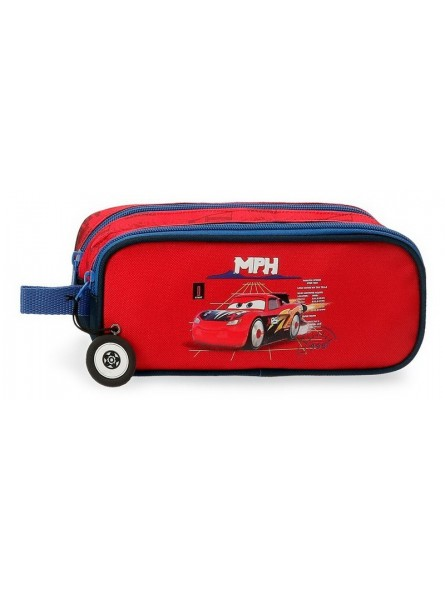 Estuche neceser doble Disney Cars Rocket Racing