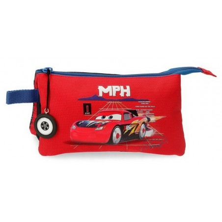 Estuche neceser triple Disney Cars Rocket Racing