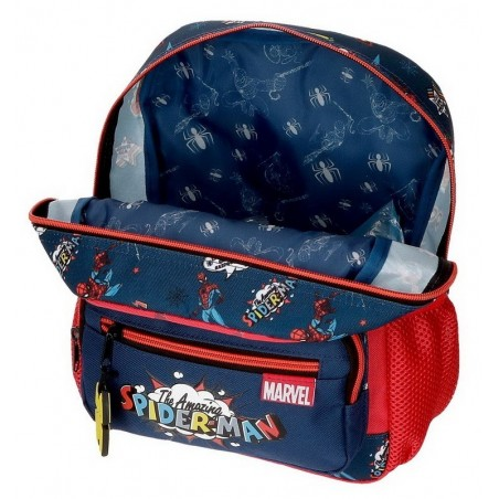 Mochila pequeña adaptable Marvel Spiderman Pop