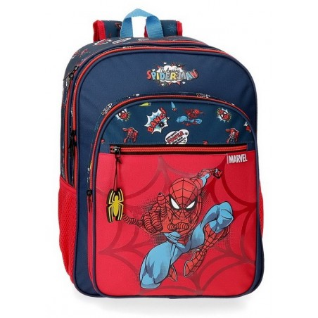 Mochila doble Marvel Spiderman Pop