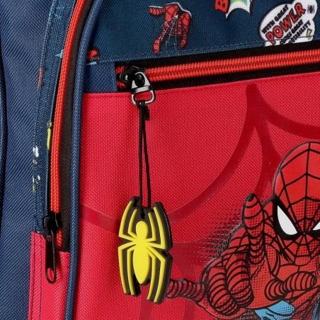 Mochila doble con carro Marvel Spiderman Pop