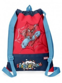 Mochila saco Marvel Spiderman Pop