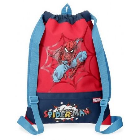 Mochila saco Marvel Spiderman Pop