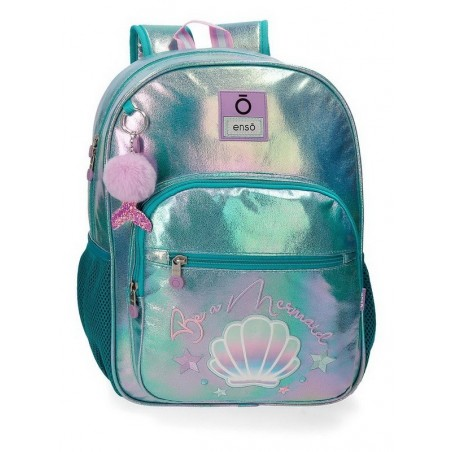 Mochila mediana adaptable Enso Be a Mermaid