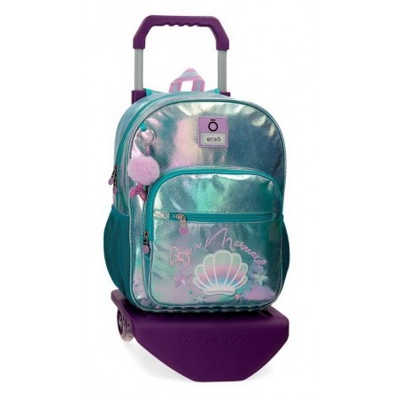 Mochila mediana con carro Enso Be a Mermaid