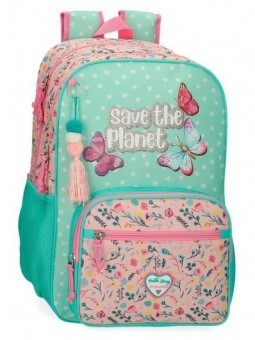 Mochila doble adaptable Movom Save the Planet
