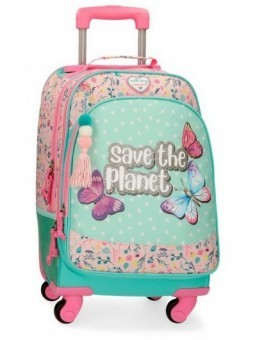 Mochila 4 ruedas Movom Save the Planet