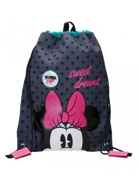 Mochila saco Disney Sweet Dreams Minnie