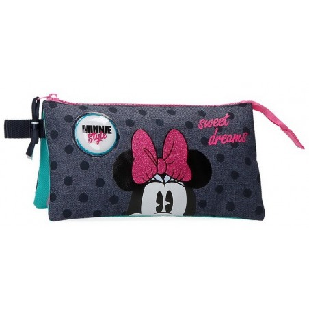 Estuche neceser triple Disney Sweet Dreams Minnie