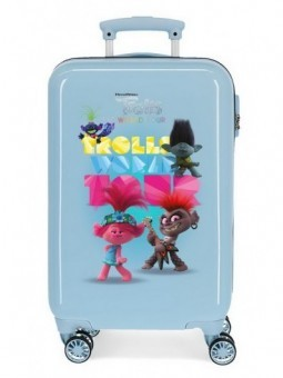 Maleta cabina Trolls World Tour
