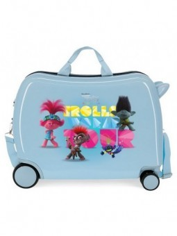 Maleta correpasillos Trolls World Tour