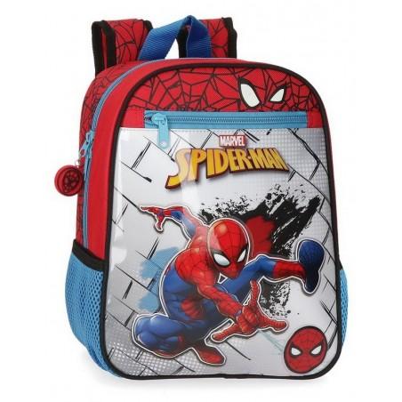 Mochila pequeña adaptable Marvel Spiderman Red