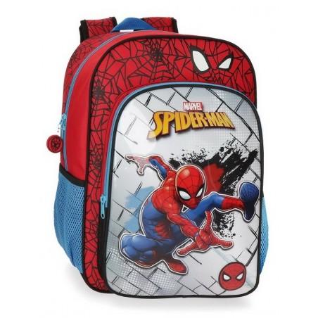 Mochila grande adaptable Marvel Spiderman Red