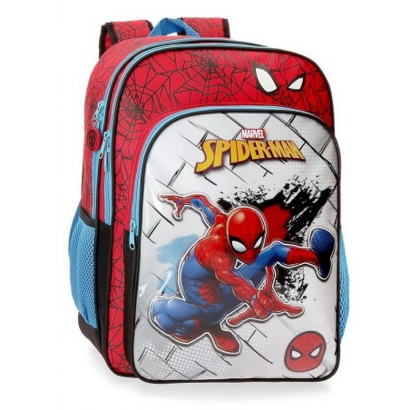 Mochila doble adaptable Marvel Spiderman Red