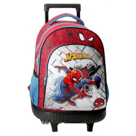 Mochila con ruedas Marvel Spiderman Red