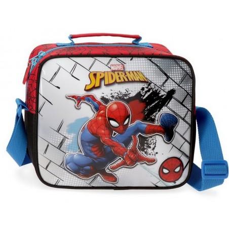 Neceser con bandolera Marvel Spiderman Red