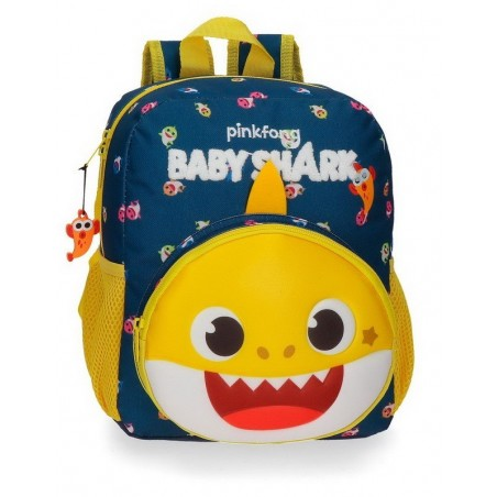 Mochila pequeña adaptable Baby Shark My Good Friend