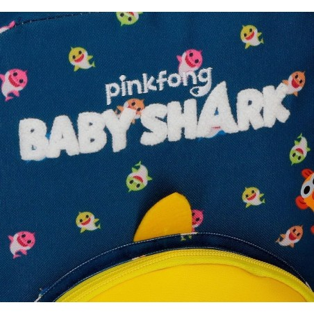 Mochila grande con carro Baby Shark My Good Friend