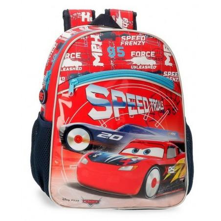 Mochila mediana adaptable Disney Cars Speed Trials