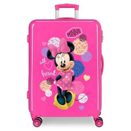 Maleta mediana Disney Love Minnie All Heart