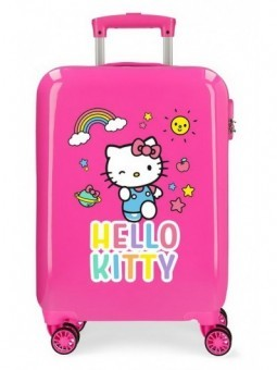 Maleta cabina rosa Hello Kitty You are Cute