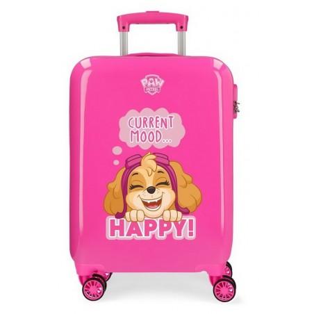 Maleta cabina rosa Patrulla Canina Playful