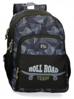 Mochila doble Roll Road Team