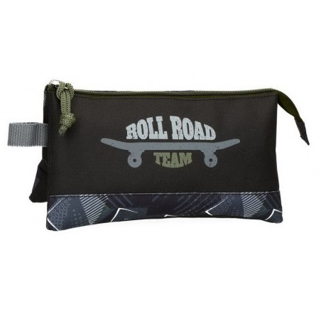 Estuche neceser triple Roll Road Team