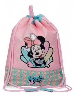 Mochila saco Disney Minnie Mermaid
