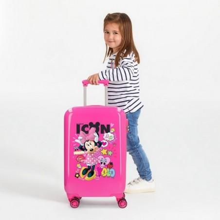 Maleta cabina Disney Enjoy Minnie Icon