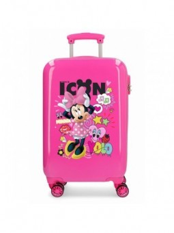 Maleta cabina Disney Enjoy Minnie Icon
