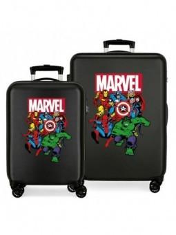 Juego de maletas Marvel Sky Avengers negra