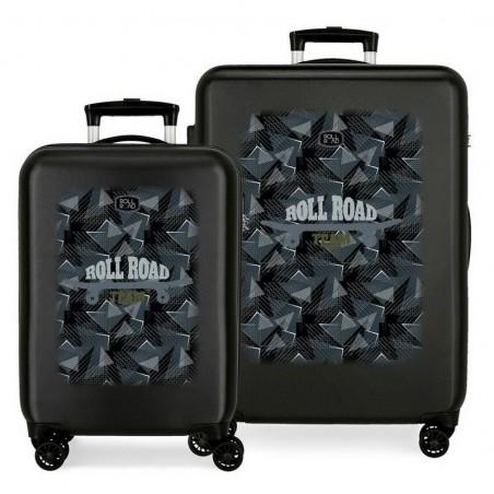 Juego de maletas Roll Road Team
