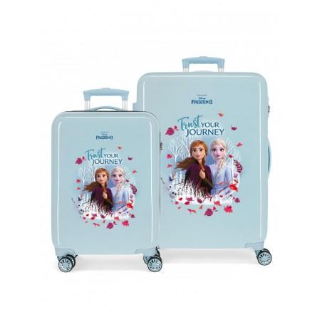 Juego de maletas Frozen Trust your journey