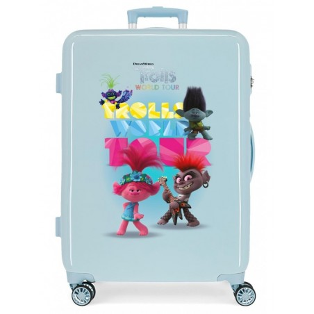 Maleta mediana Trolls World Tour