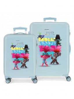 Juego de maletas Trolls World Tour