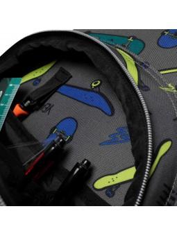 Mochila con ruedas + MP3 TOTTO 9G8