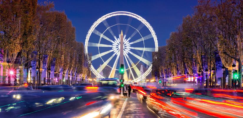 viajar en navidad paris 2021